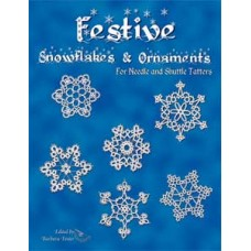 Festive Snowflakes and Ornaments