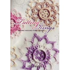 Tatting with Rings with 5 Free cabone rings