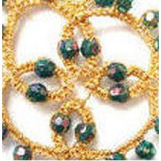 Additional beads and thread - Gold